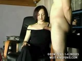 great non-professional wife handjob compilation