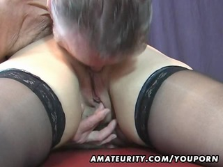 old amateur couple home act with cum on pantoons
