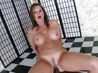 breasty matured raquel devine sits her moist