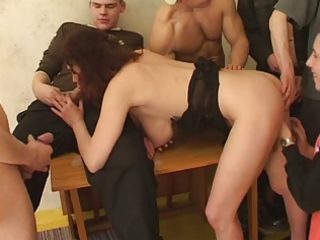 sexy breasty milf fuck by youthful guys