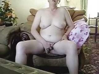 busty grandma masturbating in front of hubby