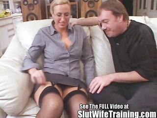 teacher joey-lynn acquires a bitch training