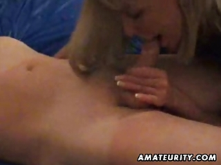 older non-professional housewife full blowjob