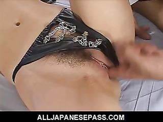 fetish fun with a concupiscent av model fastened