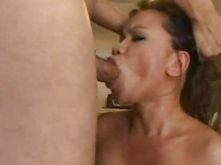oriental older booty pounded