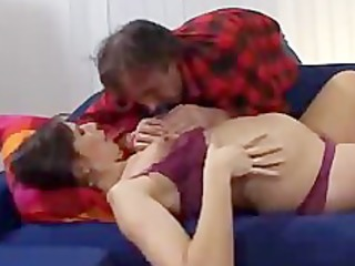 prego wife copulates friend of her spouse preggo
