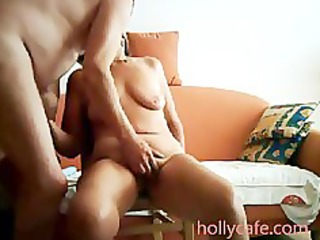 mature wife is toyed by her hubby wife sex-toy