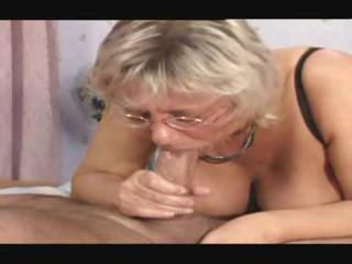 mature ladies are getting pounded and engulfing