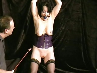 Crying mature slavegirl chinas ballgagged electro
