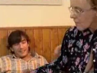 granny got her hirsute old arse anal drilled
