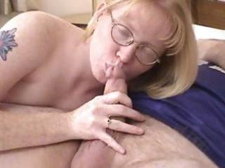 blond d like to fuck wearing glasses blows and