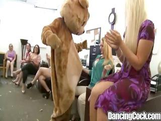 dancingcock black bear cumshot party.p2