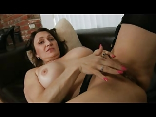mother i in black underware and stockings fingers