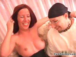 Sexy milf with big tits showing her fine