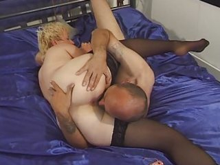 granny in nylons toyed and screwed