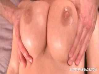 blonde angel gets pantoons and twat massaged in