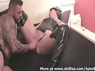 brutally fisting my wifes biggest love tunnel