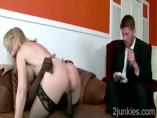 Mature secretary helps her queer son to keep his