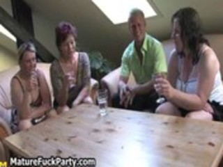 lustful older babes fucking a fortunate