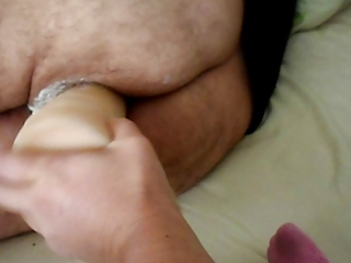 wife strapon large dildo
