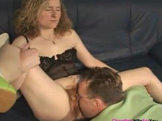 Very hairy mature wife 5