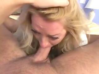 y.o. blond mature lady hot sex (pov)