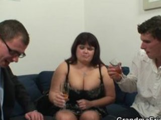 older fatty takes dicks after photosession