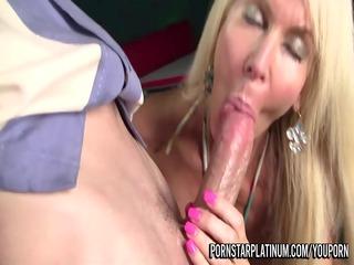 mature pornstar drilled