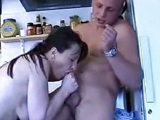 older lady enjoying a young gentlemens pounder