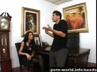 Naughty milf kayla carerra office sex