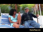 old mama receives group-fucked hard