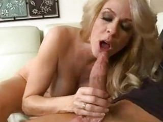heavy chested golden-haired mother i takes