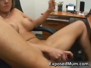 dolled up mommy gives amazing jerk off part4