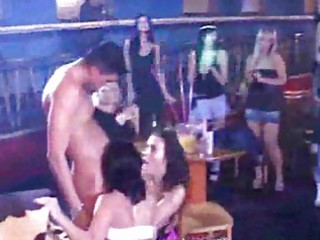 orgy party! mothers daughters sucking schlong