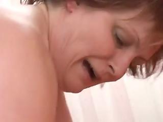 big beautiful woman older sucks and bonks a large