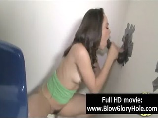 gloryhole - sexy breasty babes love engulfing