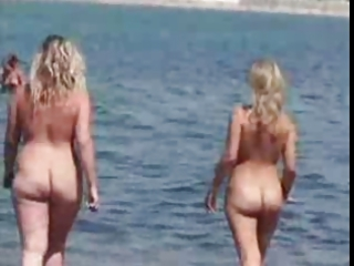 nudist beach perv 0 corpulent large tits milf