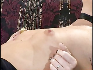 sexy and horny lesbians take turns licking their
