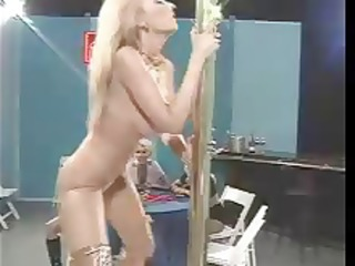 retro rocking stripper women