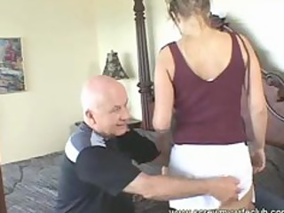 hubby watched his wife got face hole and anal