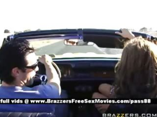 older breasty wife gets dressed goes for a ride