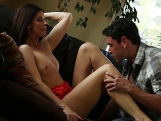 Sexy milf india summer fucked on couch