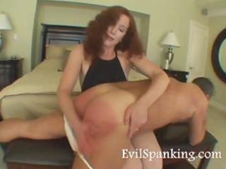milfs spanking husband wazoo hard