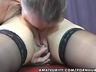 old amateur couple home action with cum on mounds