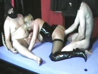 amateur wife fisted by her hubby and his ally