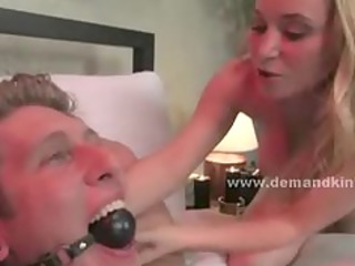 blonde busty newly wed wife transforms into wild