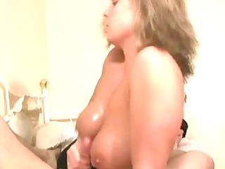 titfuck cook jerking blond older