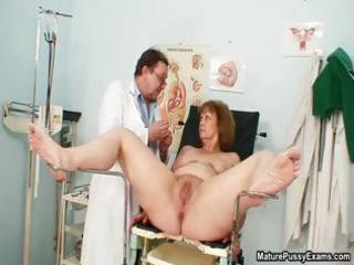messy doctor fucking his mature patient