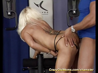 my sexually excited muscle mommy