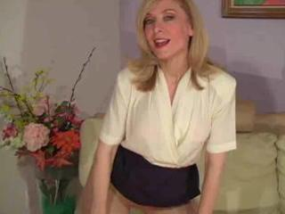 aged nina hartley in hose as not at any time seen